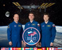 International Space Station Expedition 17 Official Crew Photograph #1